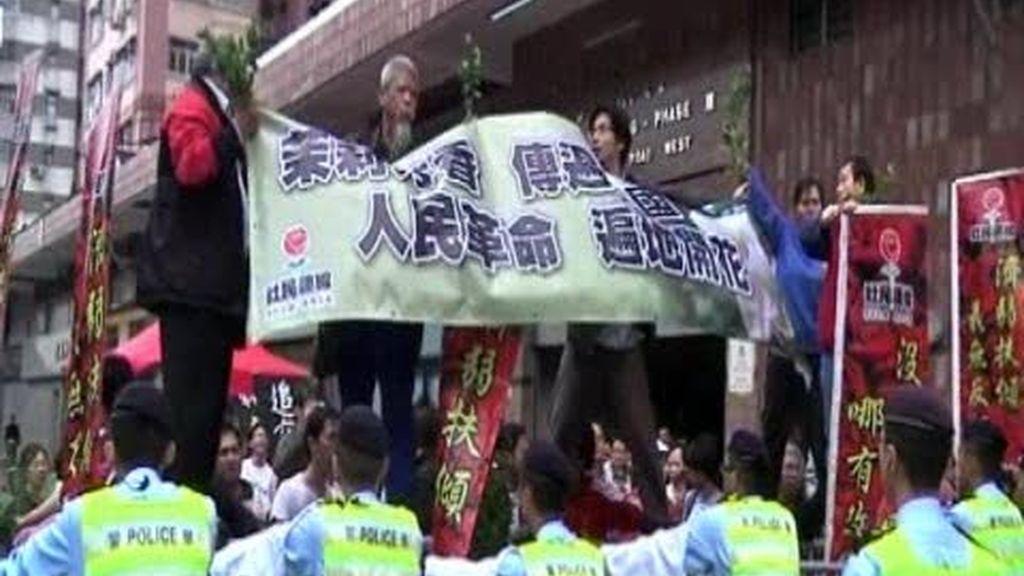 China corta de raíz las protestas