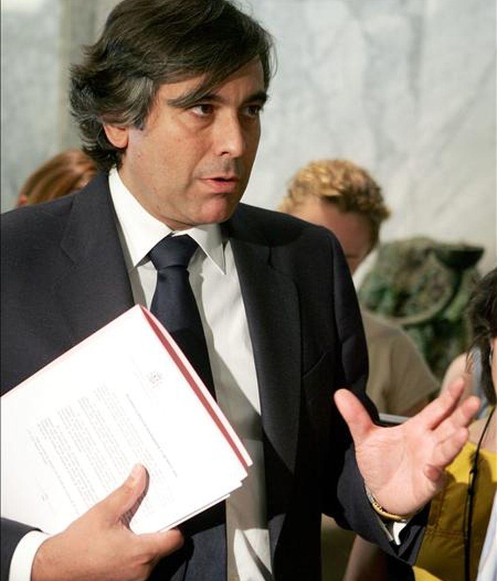El magistrado Enrique López. EFE/Archivo