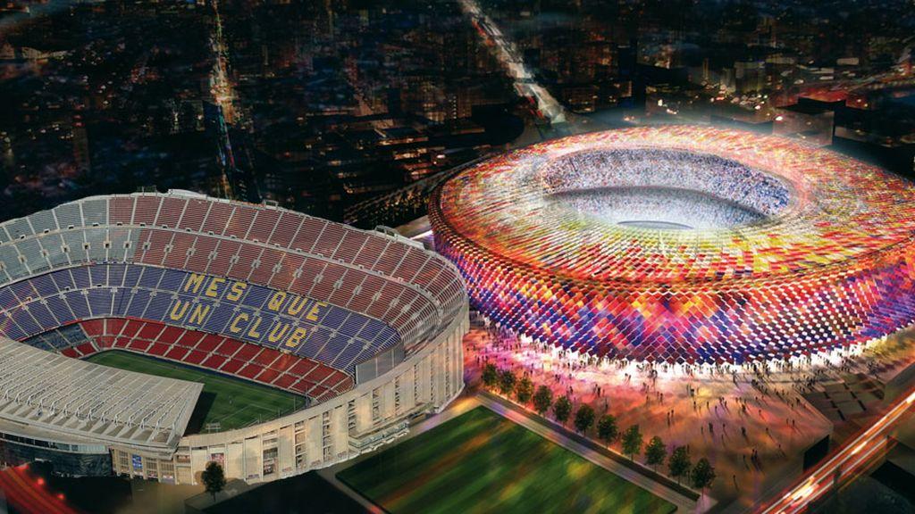 Camp Nou: Remodelación azulgrana