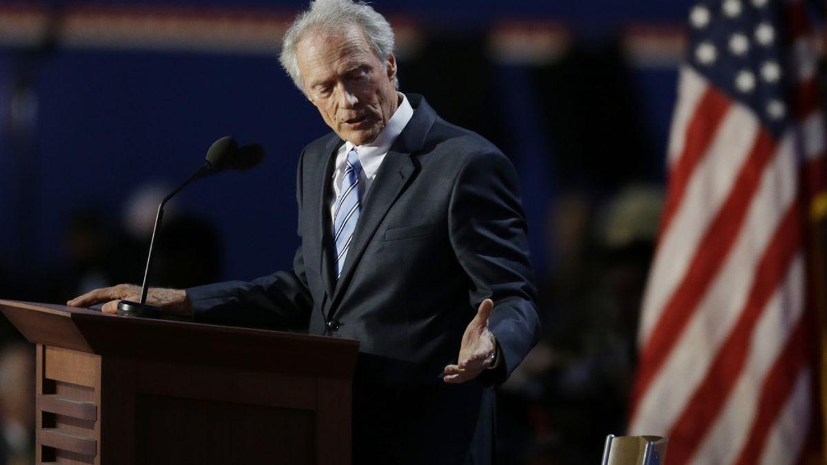 El actor Clint Eastwood durante la convención republicana en Tampa. Foto: Gtres