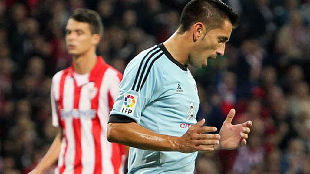 Charles, en el Athletic-Celta