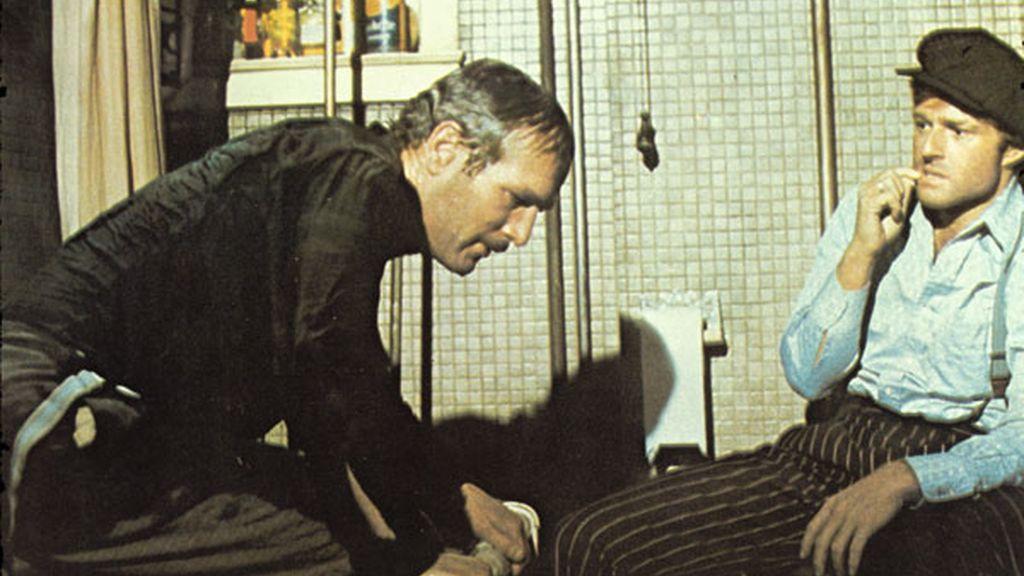 Con Paul Newman, de nuevo, en 'El Golpe'