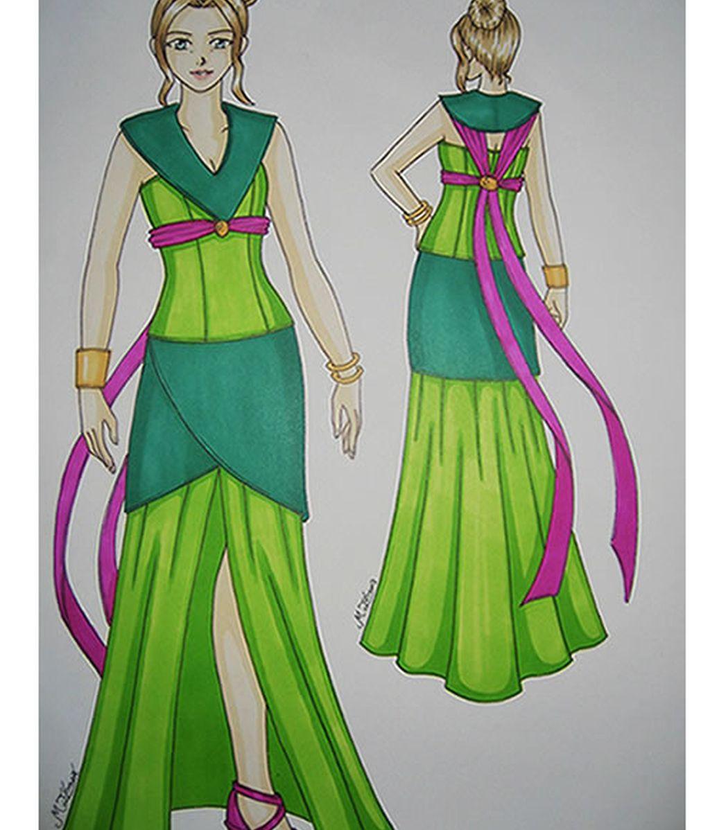 Vestido M.I. Sanz