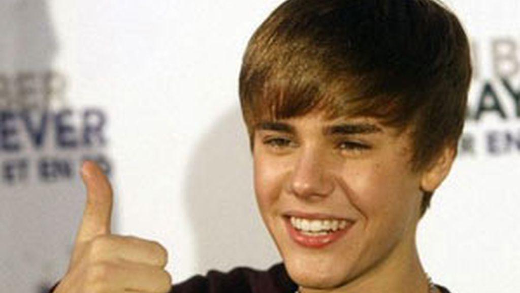 El cantante Justin Bieber, todo un bromista. Foto: EFE / Archivo