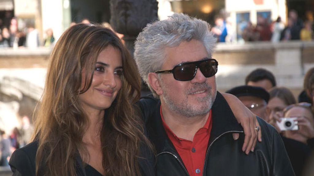 Penélope Cruz y Pedro Almodóvar