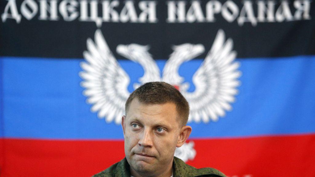 Alexander Zakharchenko, primer ministro de la autoproclamada República Popular de Donestk