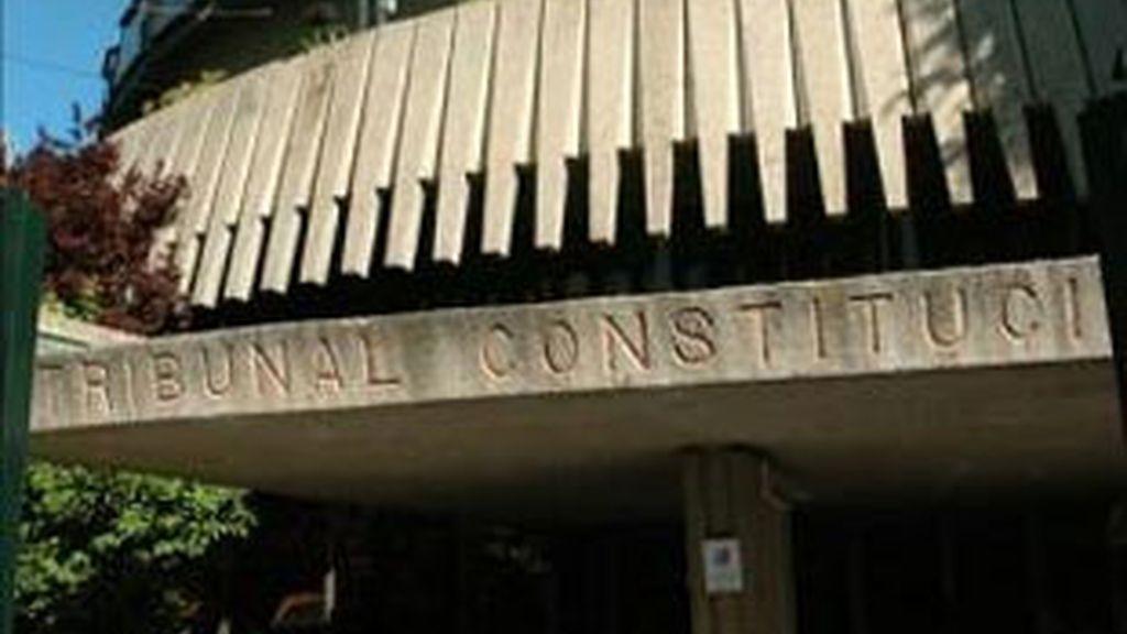 Imagen de archivo del Tribunal Constitucional. Foto: EFE.