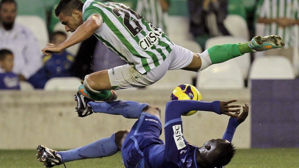 El Betis gana al Valencia. Foto: EFE