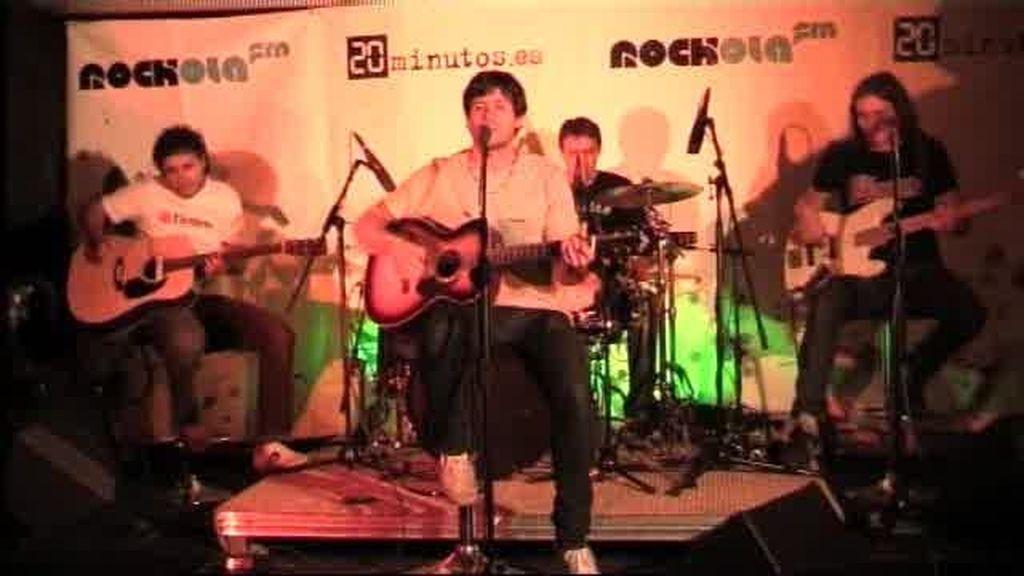Inlogic - In The Sand en directo el Día de la Música