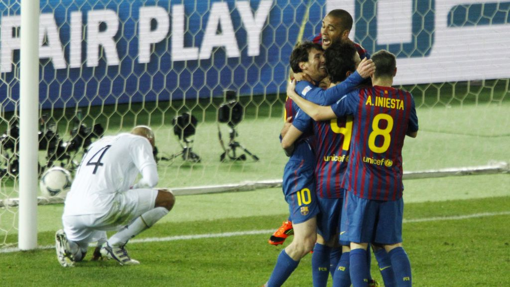 Los goleadores de la final