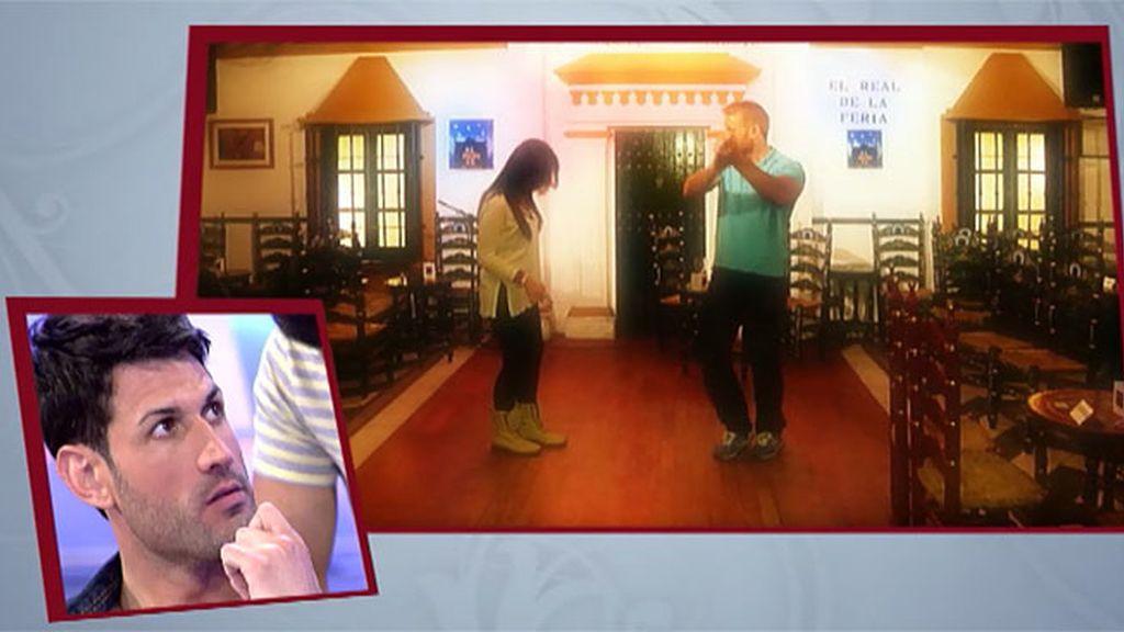 Sven se atreve a bailar flamenco