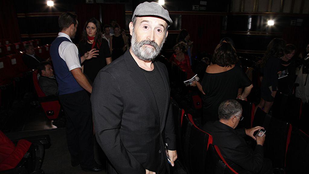 Javier Cámara, flamante ganador de la Concha de Plata al mejor actor
