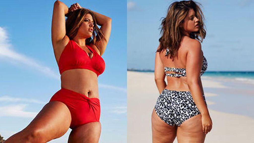 Denise Bidot, modelo de tallas grandes