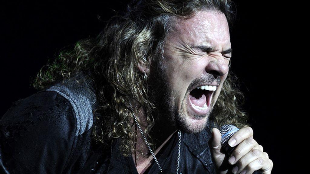 Fer, el cantante del grupo mexicano 'Maná'