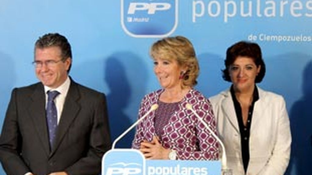 Esperanza Aguirre, presidenta de la Comunidad de Madrid. Video: ATLAS