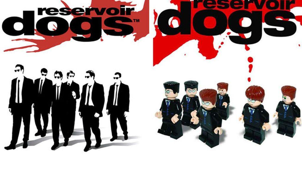 Versión Lego de 'Reservoir Dogs'