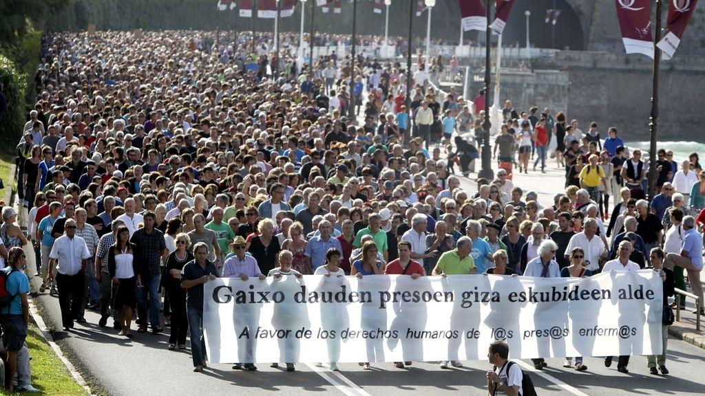 Manifestación San Sebastían