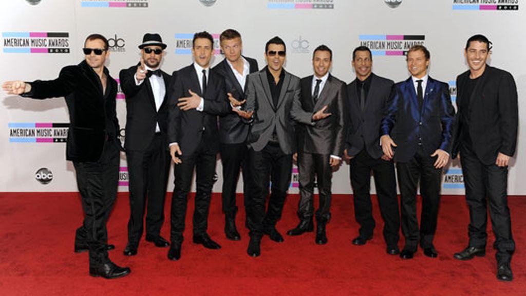 Backstreet Boys con los New Kids On The Block