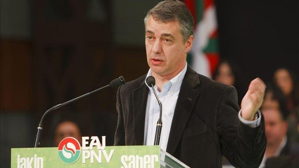 El presidente del PNV, Íñigo Urkullu. EFE/Archivo