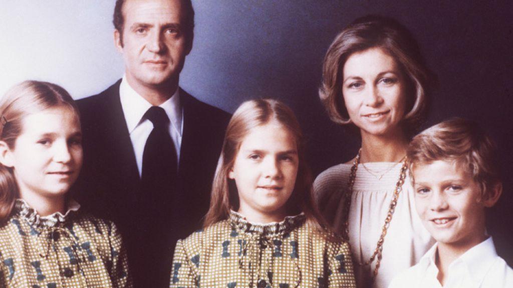 Foto familiar en 1979