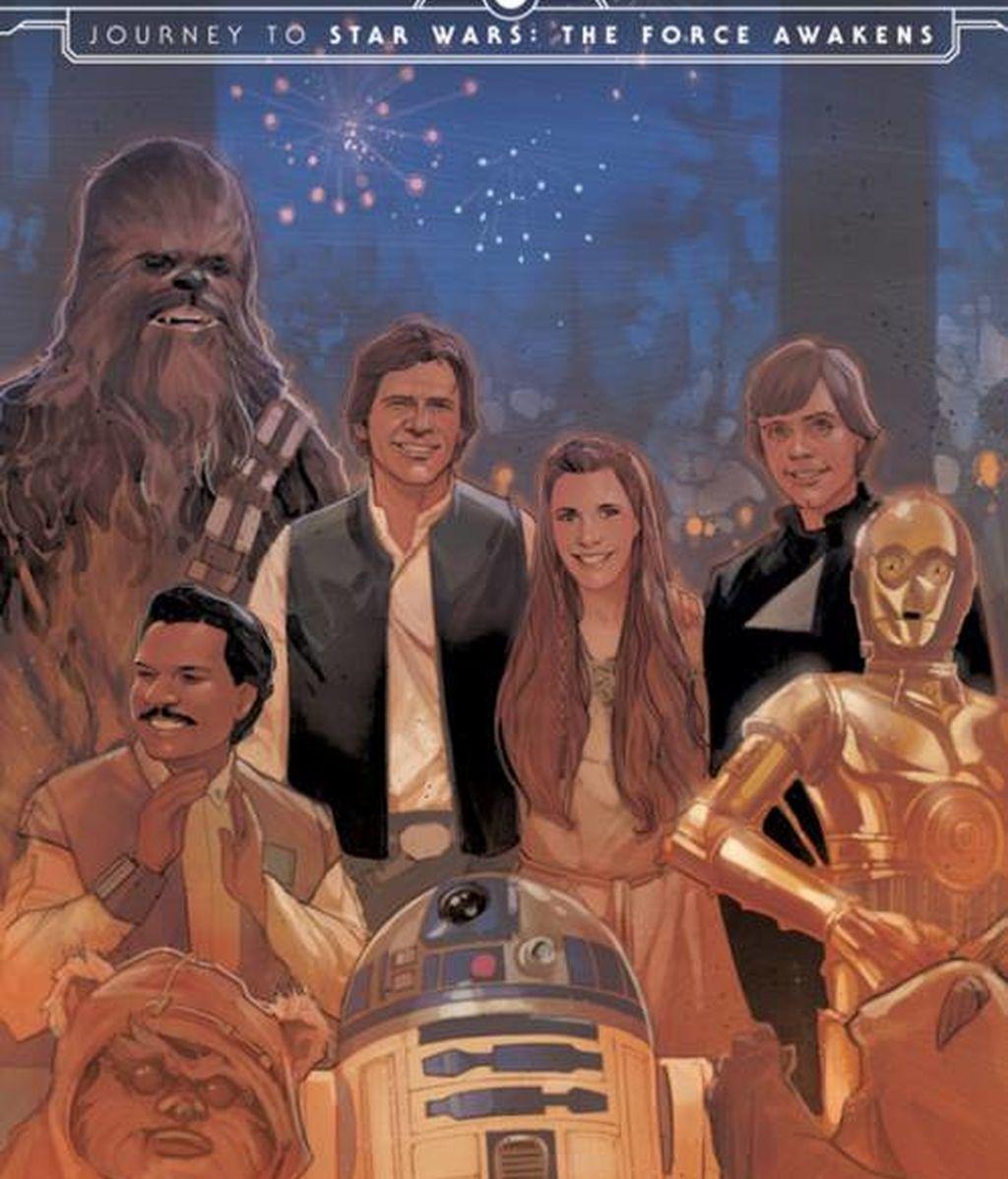 Star Wars VII: El despertar de la fuerza, primera imagen del cómic