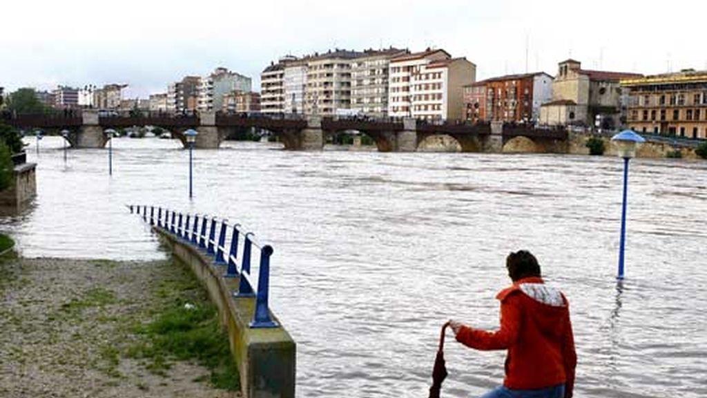 Lo peor esta por llegar en Zaragoza Video: Informativos Telecinco.
