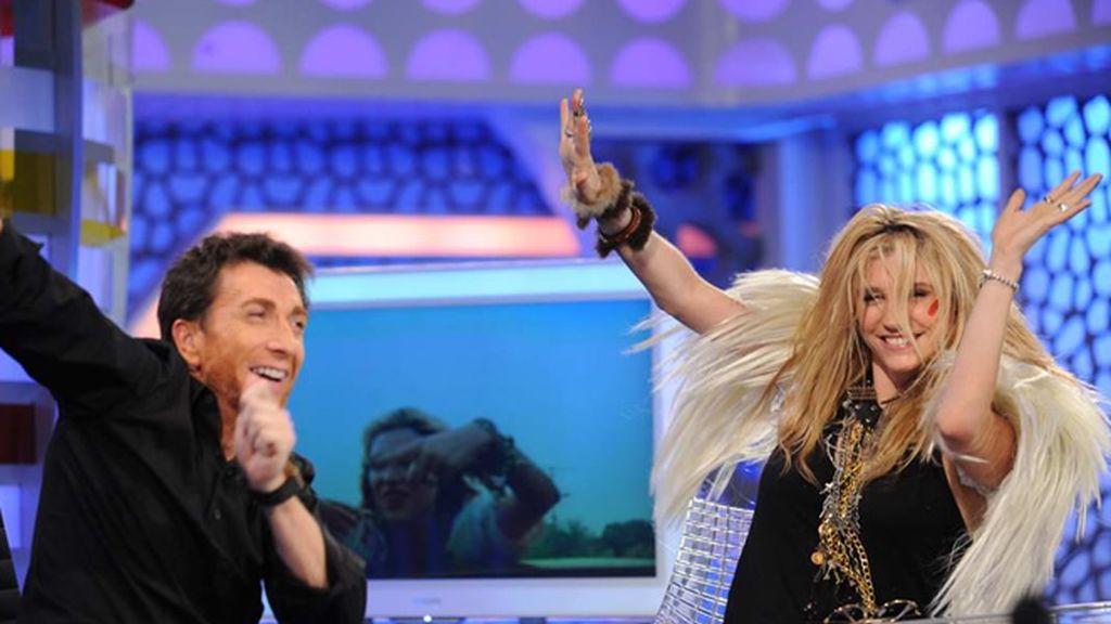 Kesha y Pablo han bailado en más de una ocasión