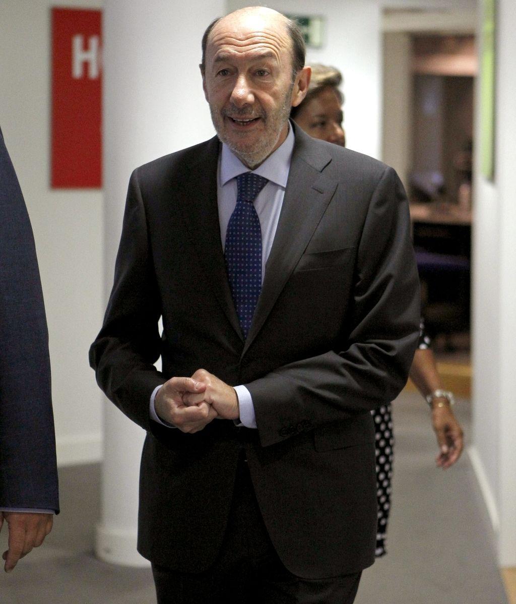 """Rubalcaba pide """"avanzar"""" hacia un estado federal"""
