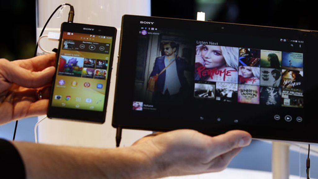 Sony saca pecho en el Mobile World Congress de Barcelona
