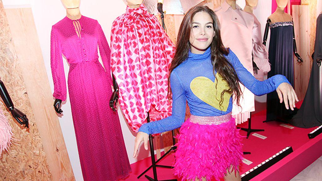 Cósima Ramírez nos enseñó la pieza que Ágatha Ruiz de la Prada prestó para la fiesta de YoDona