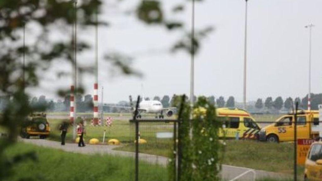 Imagen del avión que finalmente no ha sido secuestrado