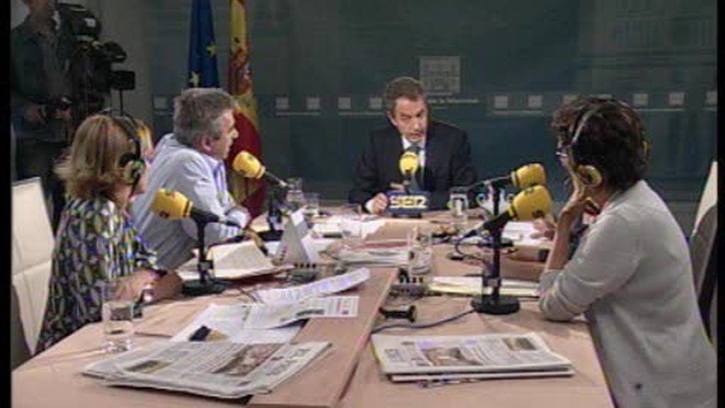 Zapatero responde en la SER