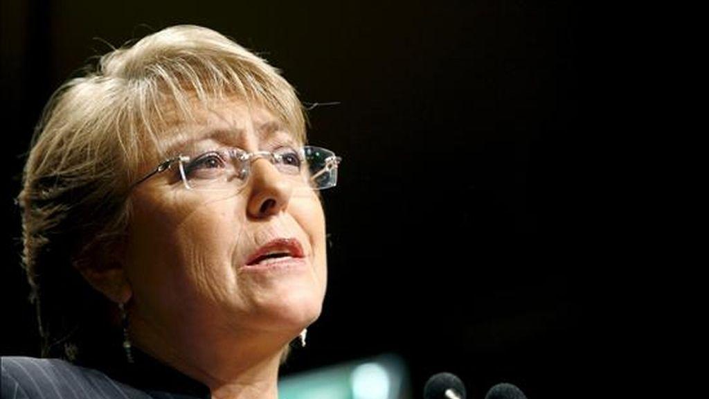 Bachelet será la segunda gobernante de Latinoamérica que visita oficialmente Washington desde la llegada de Barack Obama a la Casa Blanca. EFE/Archivo