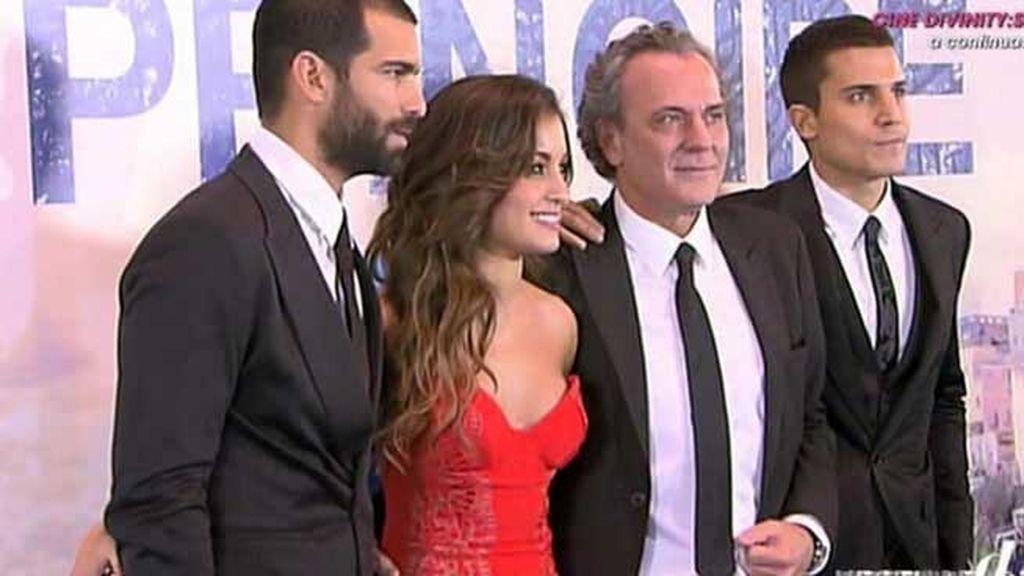 Rubén Cortada, Hiba Abouk, José Coronado y Álex González