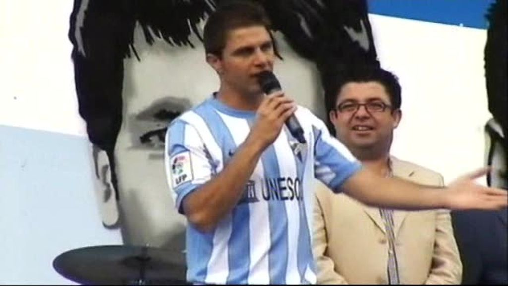 Joaquín, puro espectáculo para el Málaga