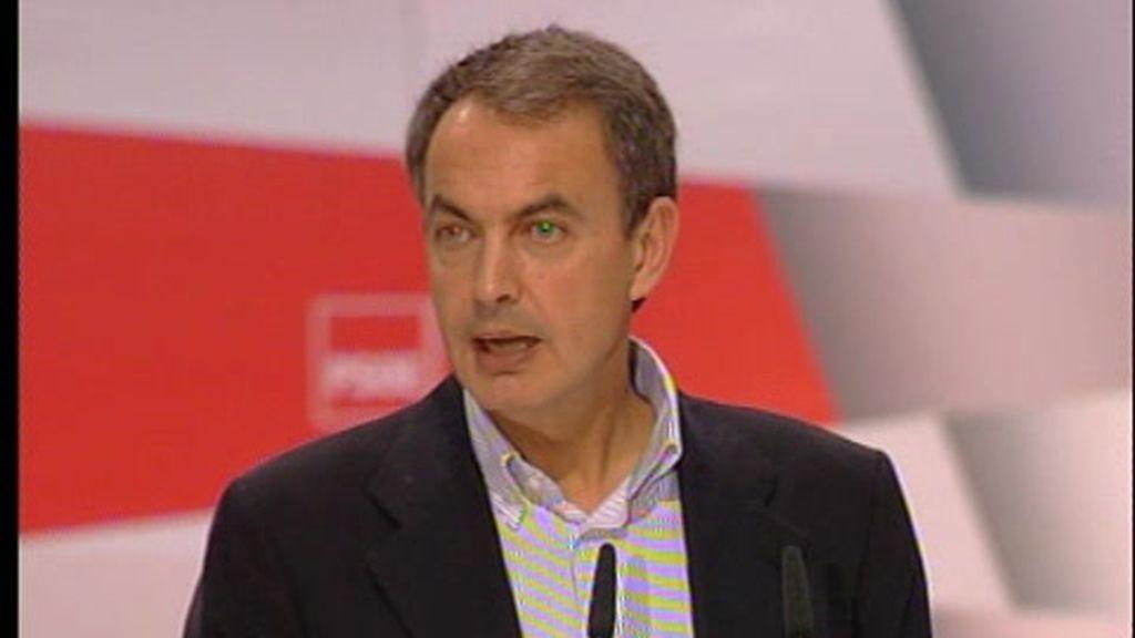 Zapatero defiende la reforma laboral a dos días de la huelga
