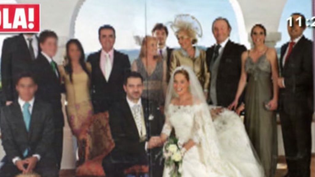 La boda de Chayo, los detalles de la portada de Hola