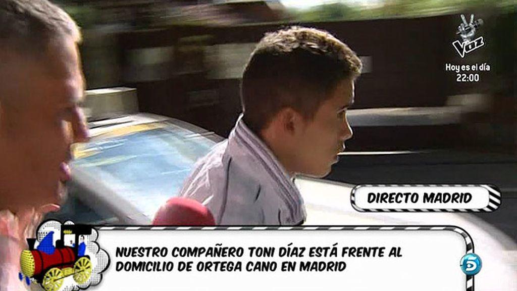 El hijo del diestro acude a su casa en Madrid