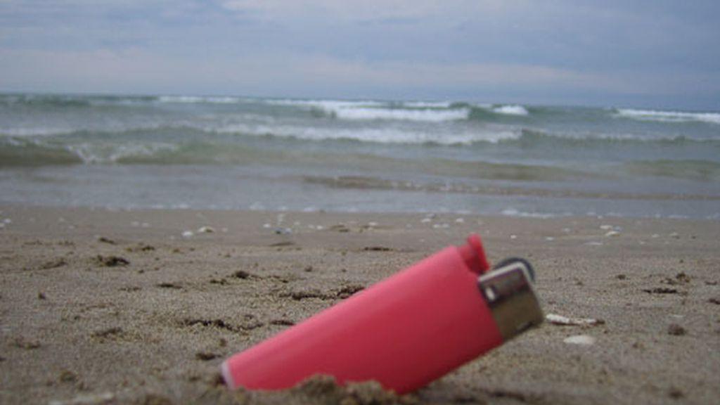 La playa más 'pink'
