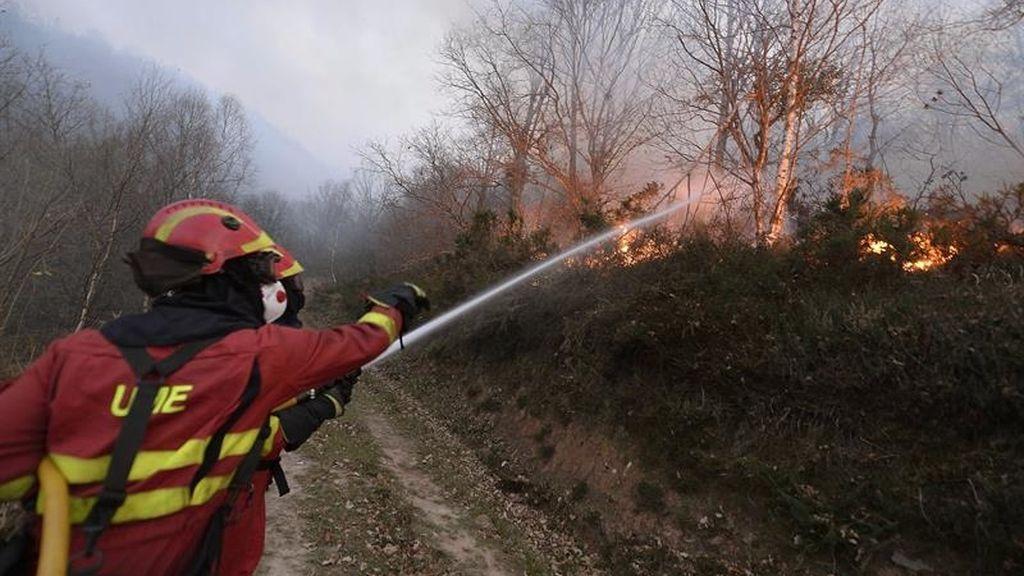 Incendios en Cantabria