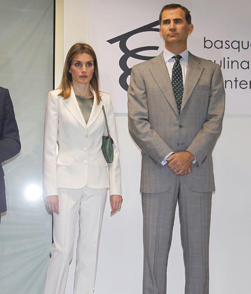 Los príncipes de Asturias, en San Sebastián