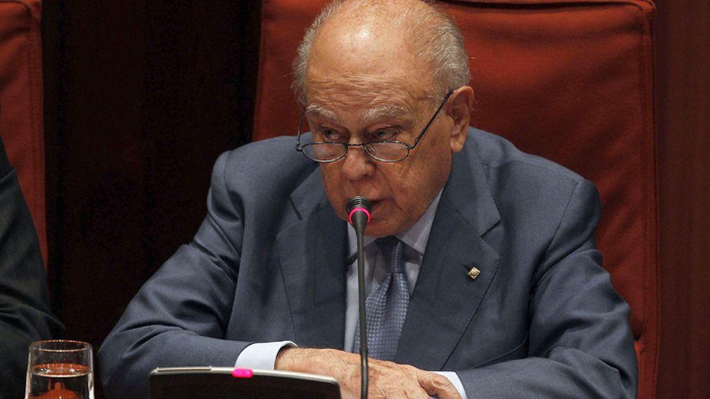 Comparecencia de Jordi Pujol ante el Parlamento de Cataluña