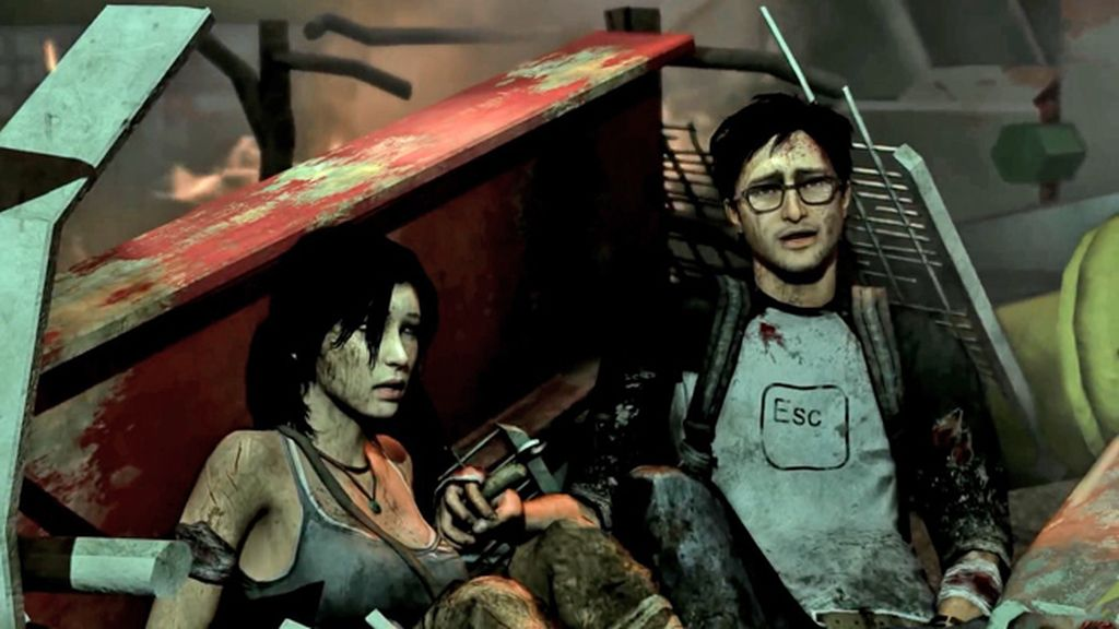 Lara Croft y Alex Weiss (Tomb Raider)