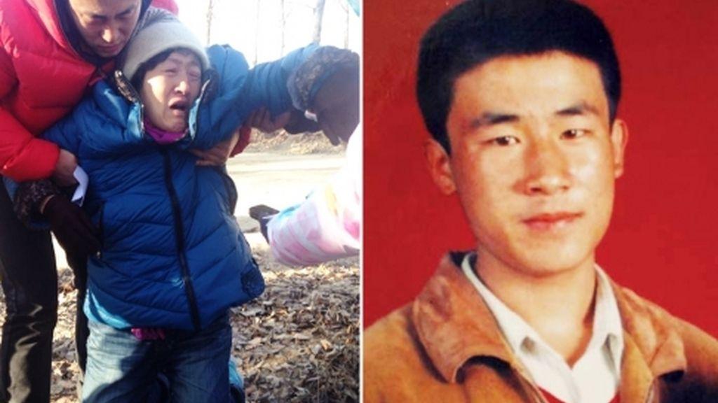 joven chino,ejecutado por error,Huugjilt,joven de 18 años,acusado de violación y asesinato,China
