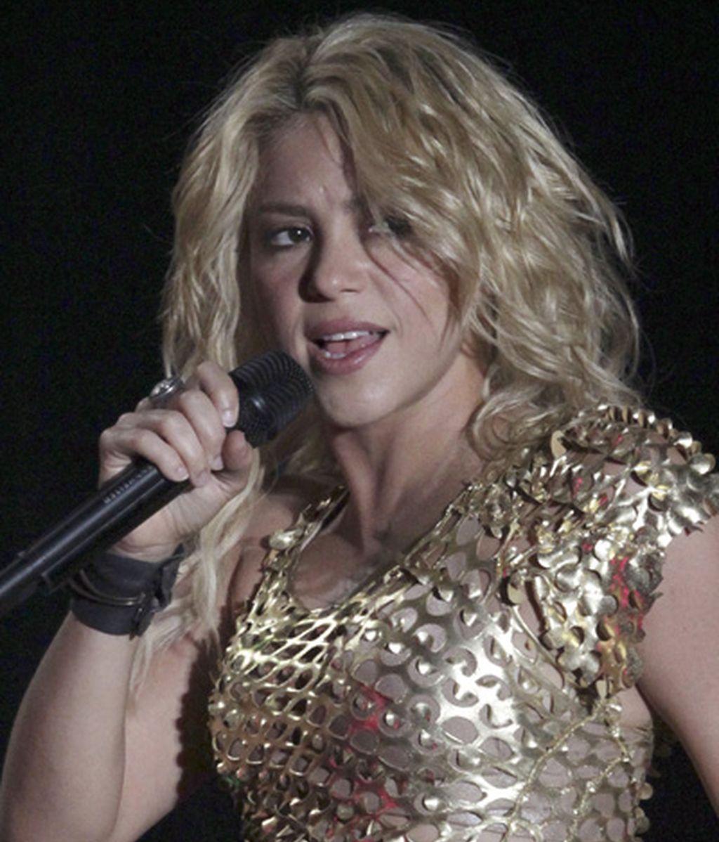 La cantante se llevó un buen susto en el concierto de Tijuana. Foto: Reuters