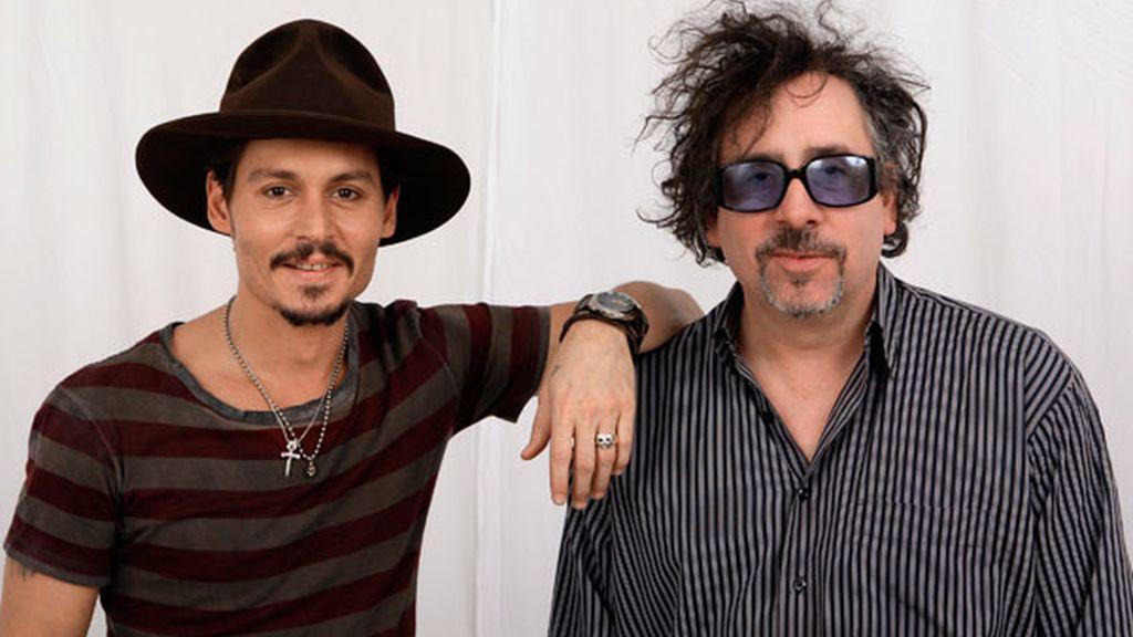 Tim Burton y Johnny Depp