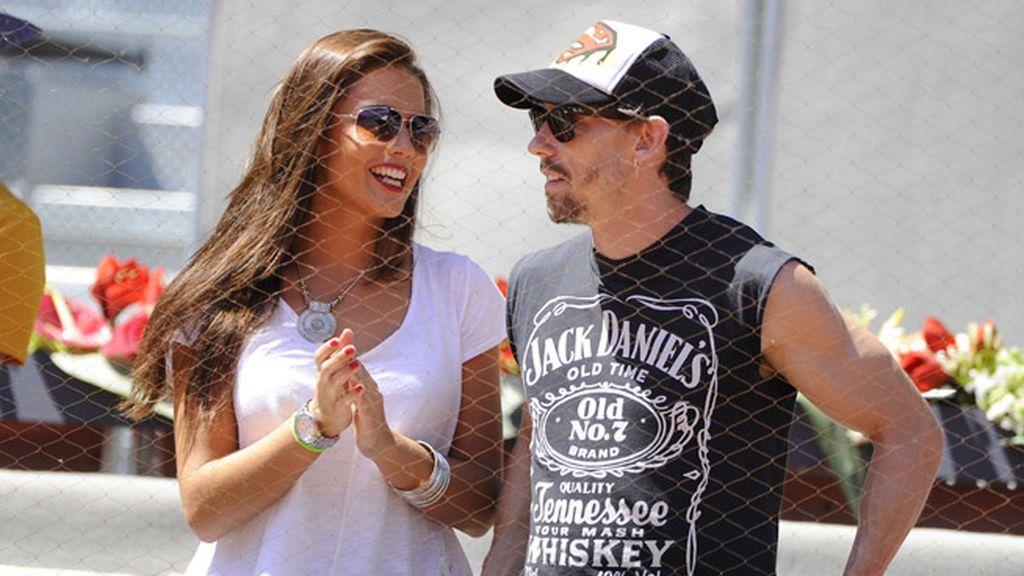 Lara Álvarez y Adrián Lastra