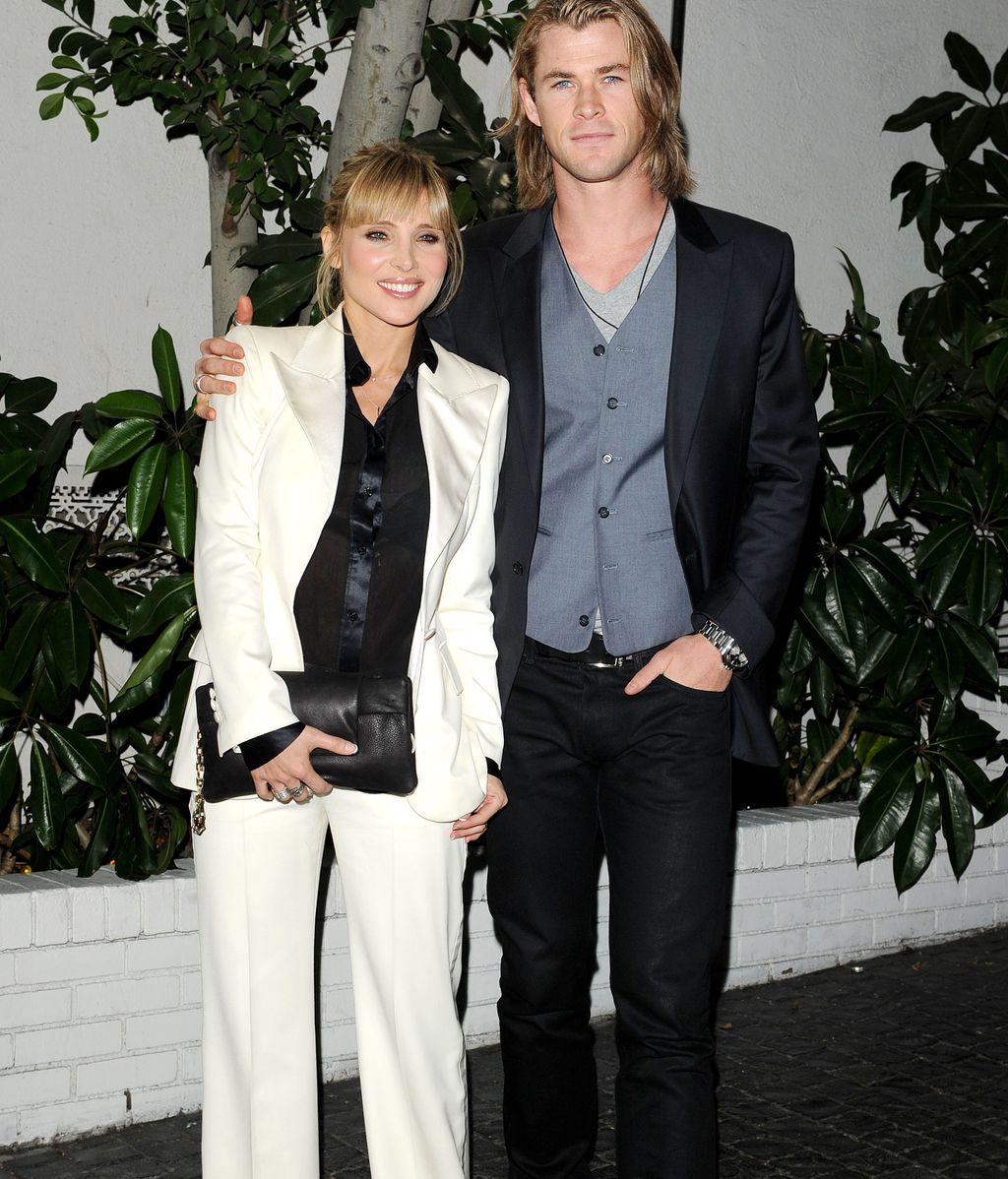 Elsa Pataky con Chris Hemsworth