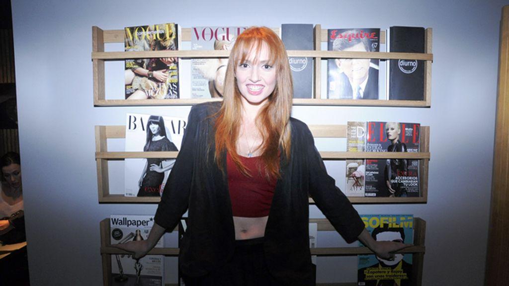 Cristina Castaño también se dejó ver en la fiesta del once aniversario de Diurno