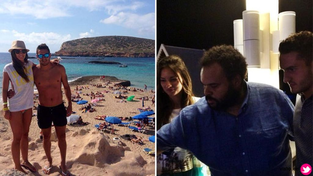 Ibiza, el lugar elegido por Koke Resurrección y su chica
